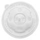 20 oz PP Paper Ice Cream Cup Flat Lid, 1000/cs