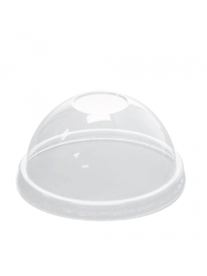 8 oz PET Paper Ice Cream Cup Dome Lid, 1000/cs
