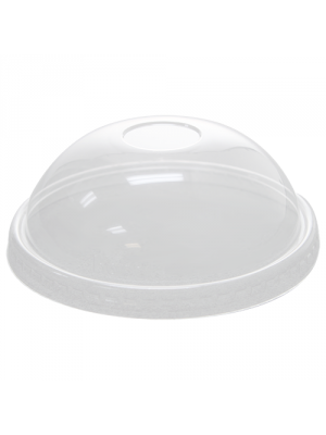 20 oz PET Paper Ice Cream Cup Dome Lid, 1000/cs