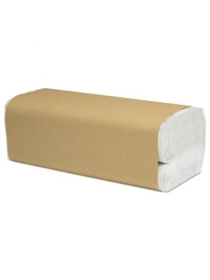 Select Folded Paper Towels, C-Fold, White, 10 x 13, 3000/cs