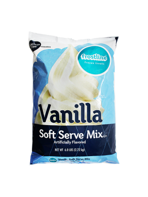 Frostline Vanilla Soft Serve Mix (6 lbs)