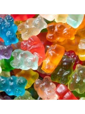 12 Flavor Gummi Bears 20 Lbs. (4/5 Lbs Bags)