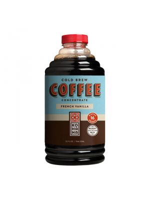Kohana Conventional French Vanilla Cold Brew Concentrate 32 oz, 6/cs