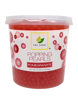 Tea Zone Pomegranate Popping Pearls (7 lbs)