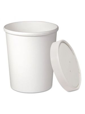32 oz Quart Premium Vented Ice Cream To Go Container, 250/cs