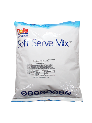 Dole Soft Serve Mix - Strawberry (4.4 lbs)