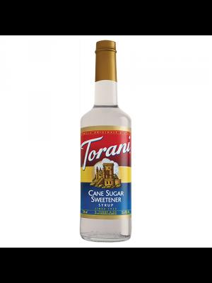 Torani Cane Sugar Sweetener Syrup (750 mL)