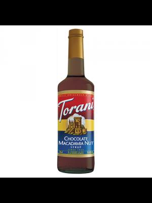 Torani Chocolate Macadamia Nut Syrup (750 mL)