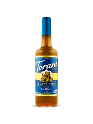Torani Sugar Free Classic Caramel Syrup (750 mL)