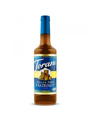 Torani Sugar Free Hazelnut Syrup (750 mL)