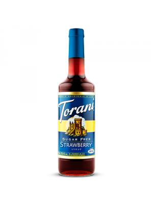 Torani Sugar Free Strawberry Syrup (750 mL)