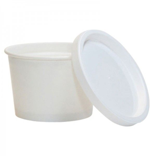 4 oz paper ice cream cups with lids