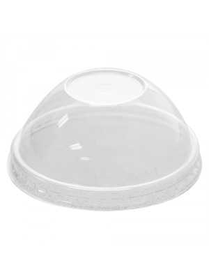 4 oz PET Paper Ice Cream Cup Dome Lid, 1000/cs