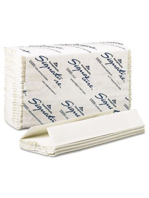 Signature 2 Ply C-Fold Paper Towels, 10 1/10 x 13 1/5, White, 1440/cs