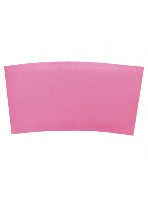 12-20 oz Pink Traditional Cup Jackets, 1000/cs