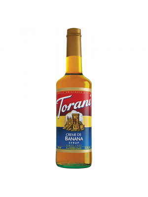 Torani Crème de Banana Syrup (750 mL)
