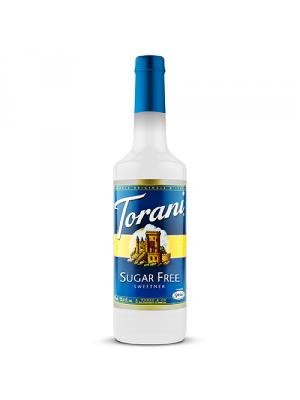 Torani Sugar Free Sweetener Syrup (750 mL)