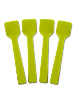 Solid Yellow Gelato Spoons, 3000/cs